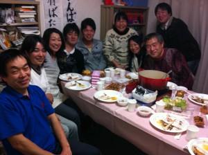 福島→船橋避難中学生学習サポート(本人・保護者・スタッフ)